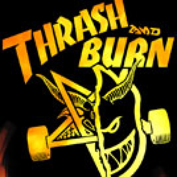 thrasher magazine thrash and burn collection
