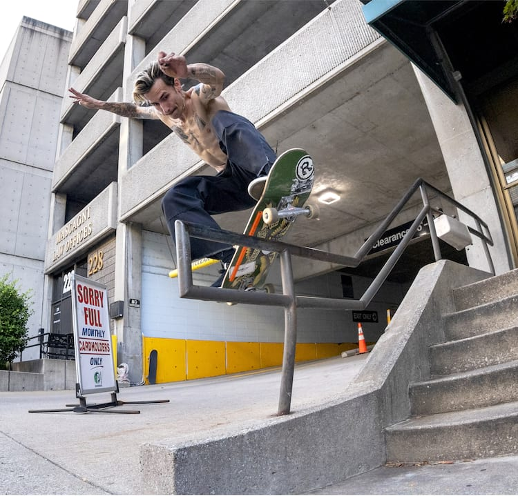 Canvas Matthew McDole Art Skate Photo