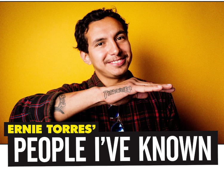 Ernie Torres People I Have Known Title