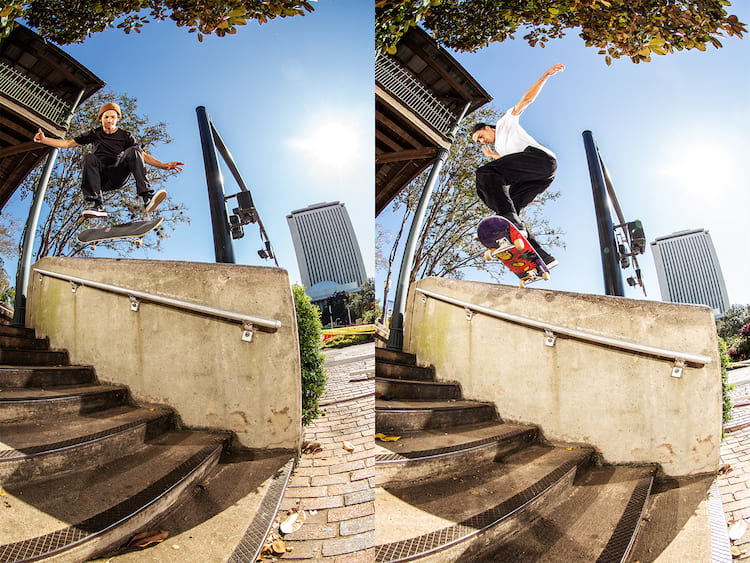 12 Blake Carpenter SW BS Tail Rick Clark Kickflip BS 5050