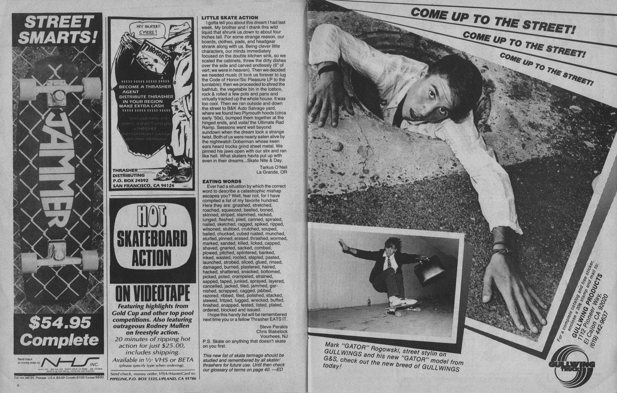 Thrasher Magazine - February 1983