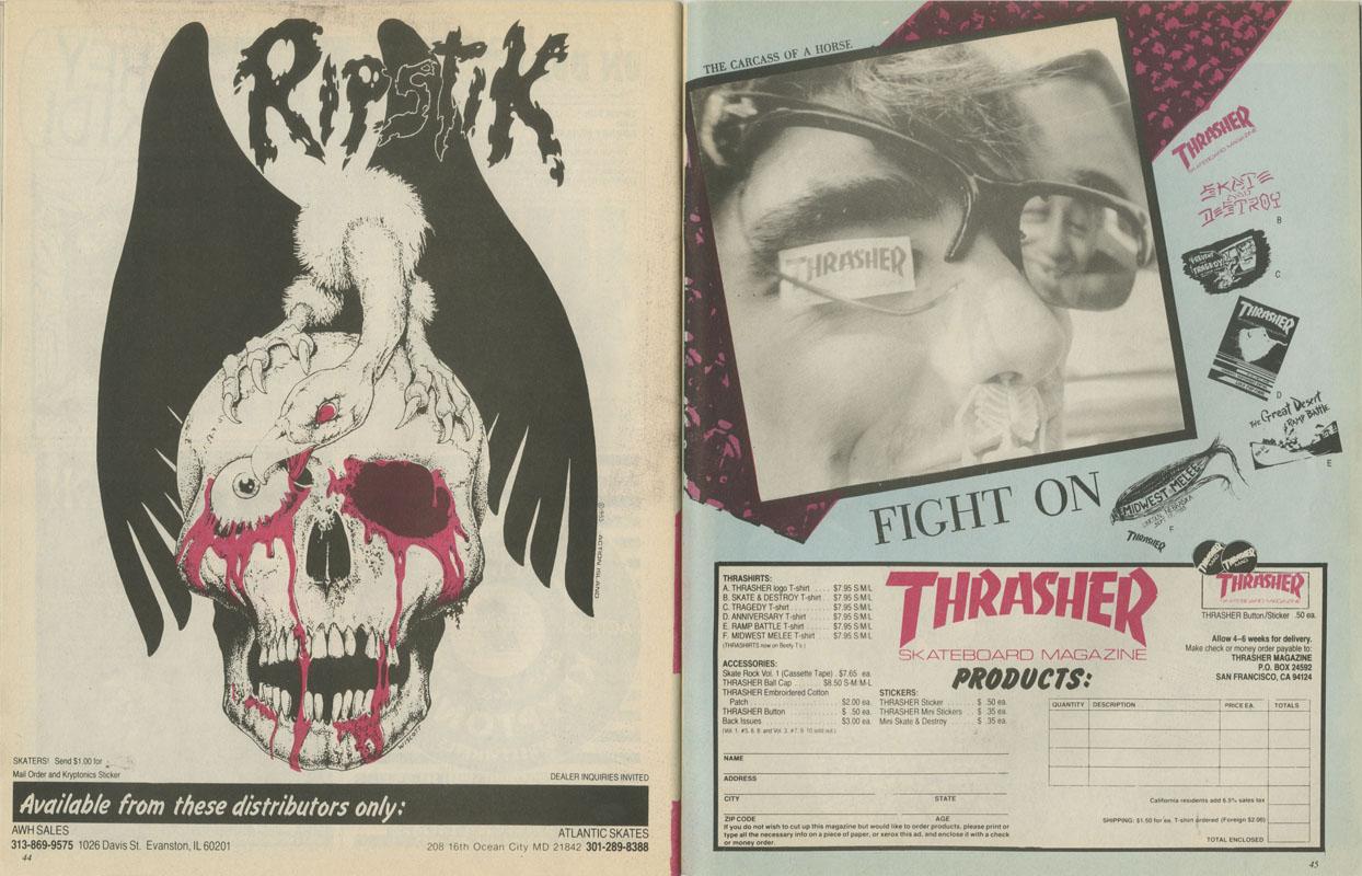 Thrasher Magazine - December 1983