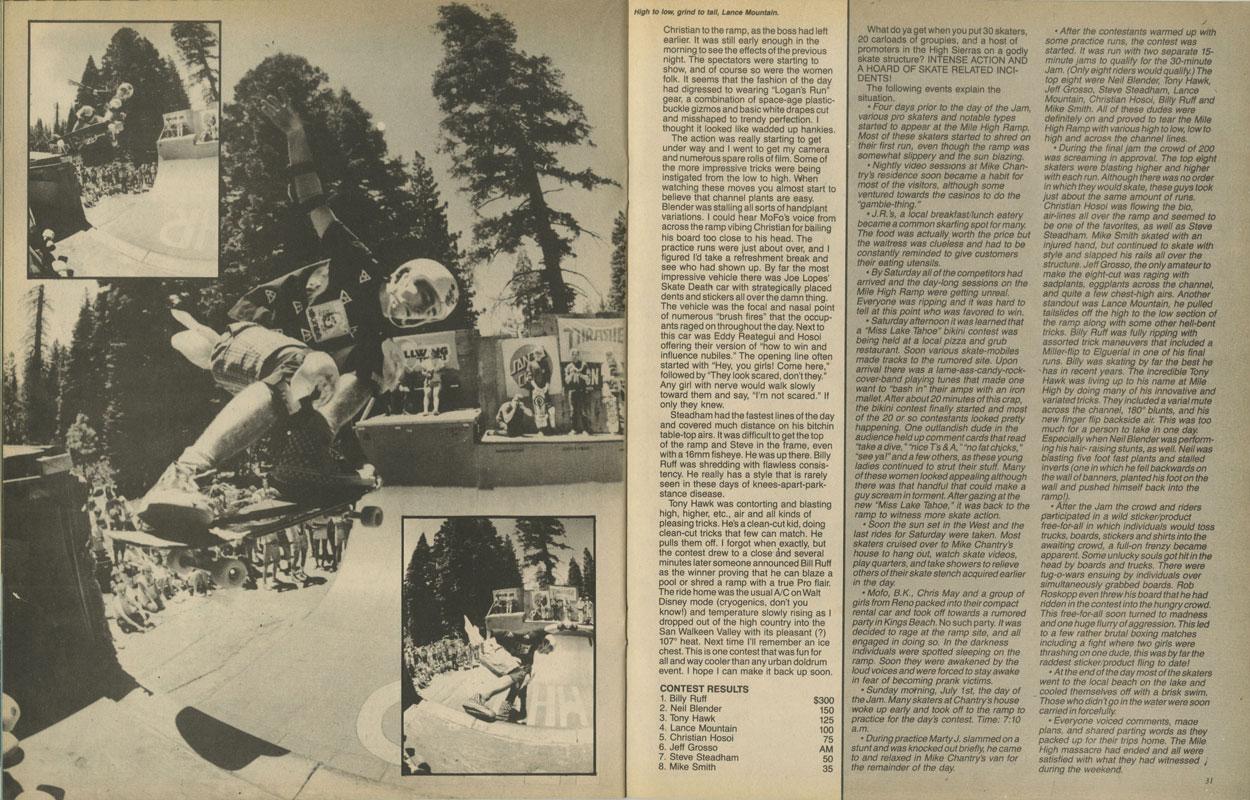 Thrasher Magazine - September 1984