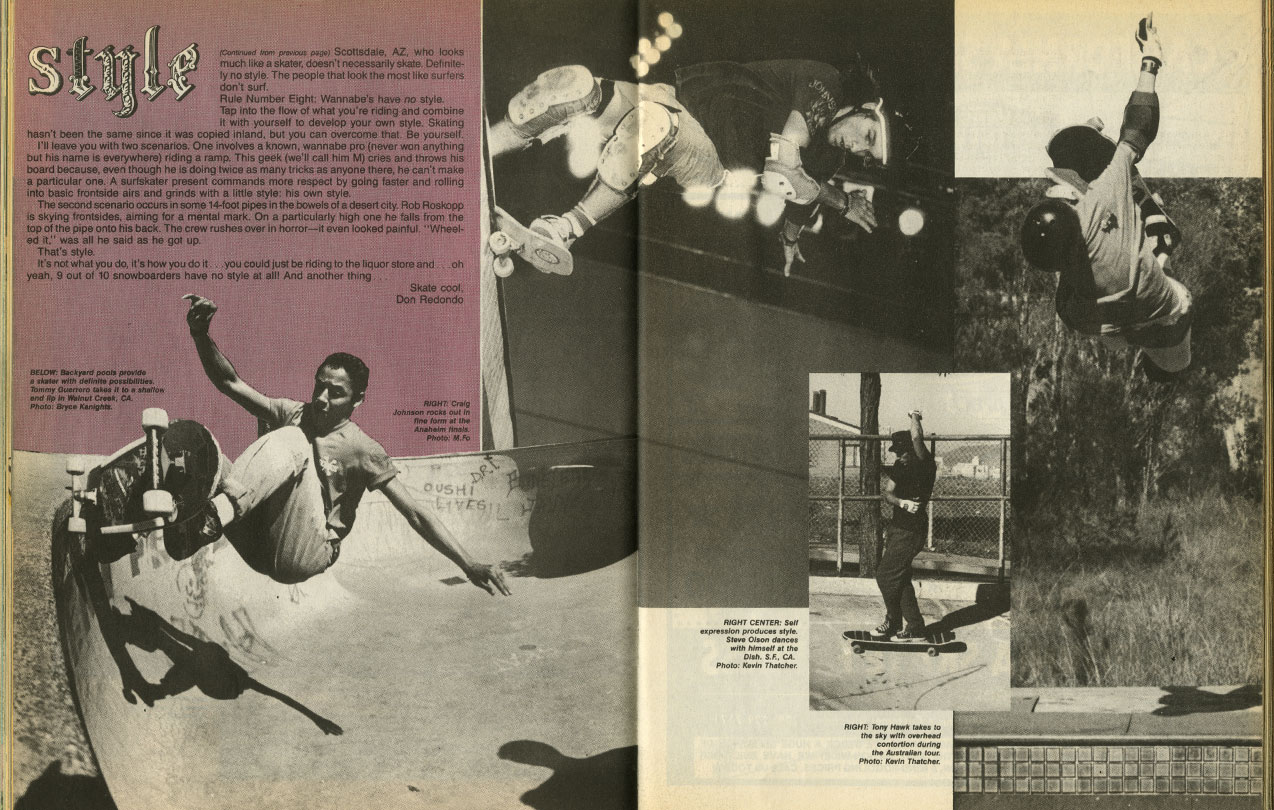 thrasher magazine august 1987