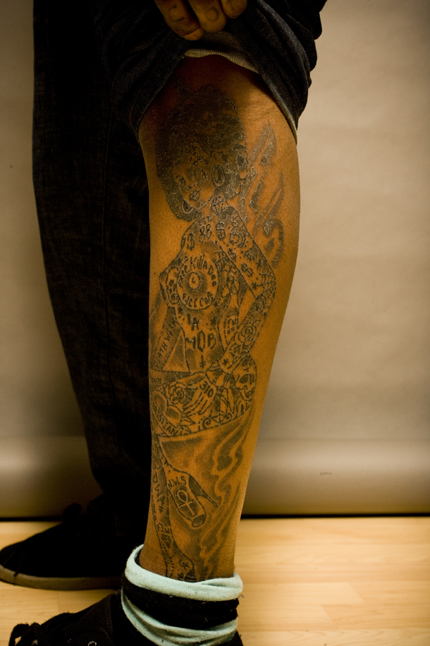 Ink Blot: Antwuan Dixon