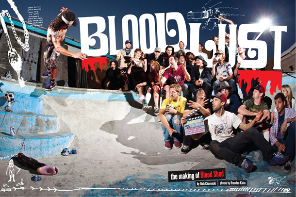The Making Of Blood Shed