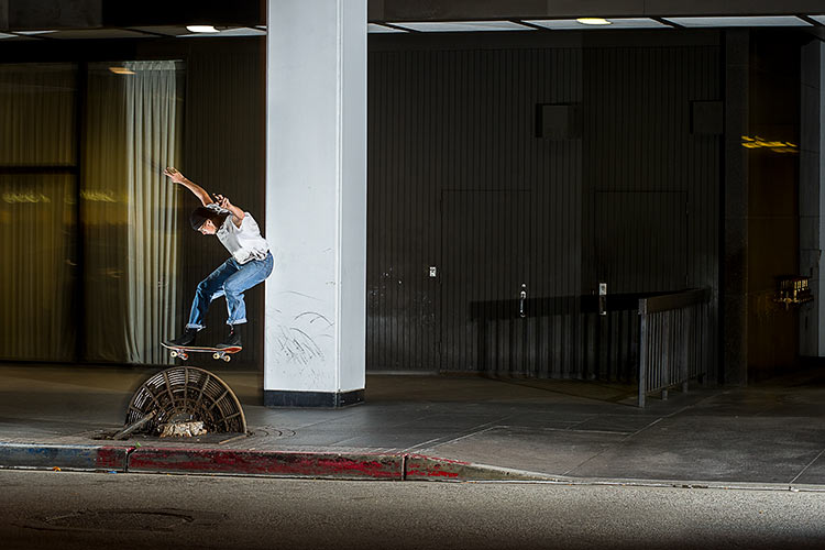Johan Stuckey gap to grind bump to rainbow Downtown LA DZ 750px