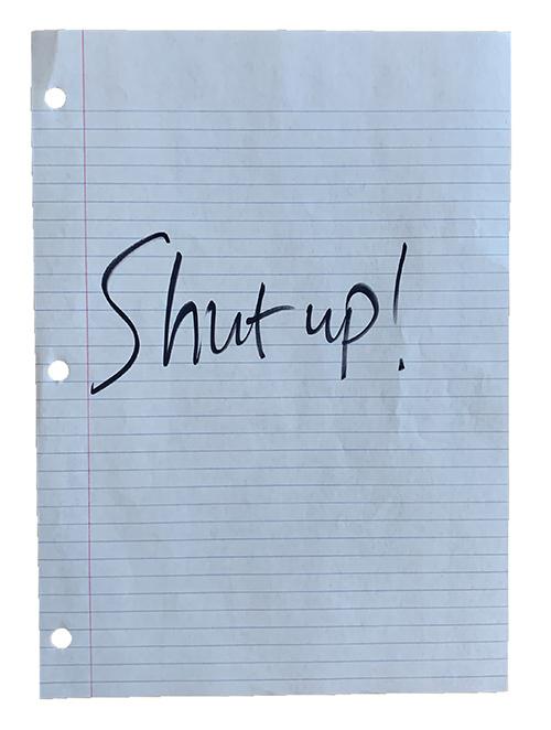 noisecomplaint shutup