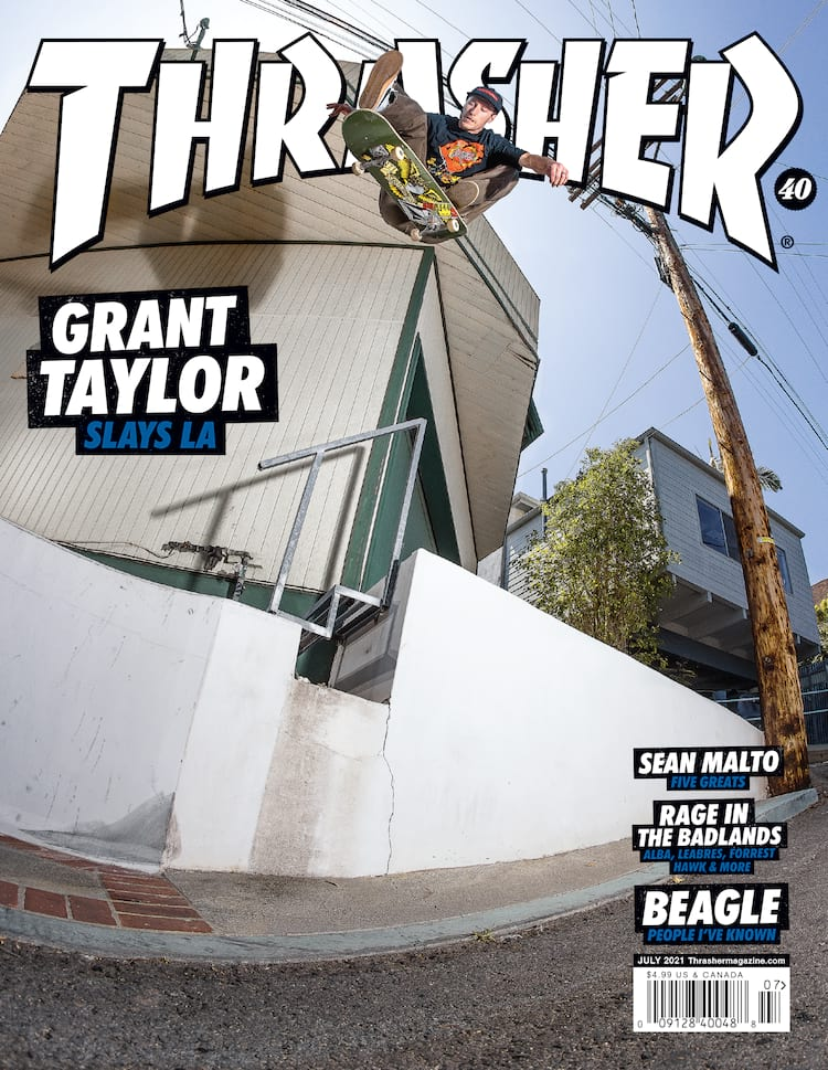 Thrasher July 2021 Grant Taylor Kicklip Atiba 2000