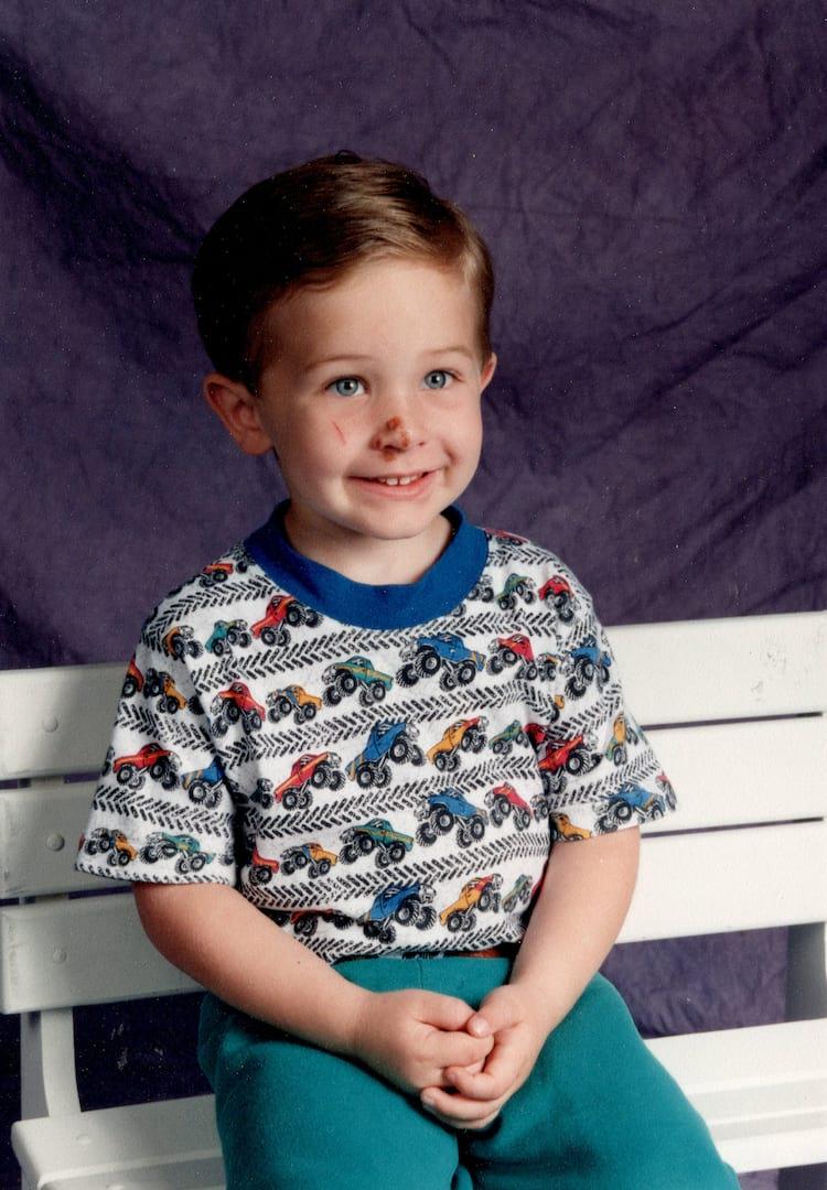 Matt Bublitz young photo scan