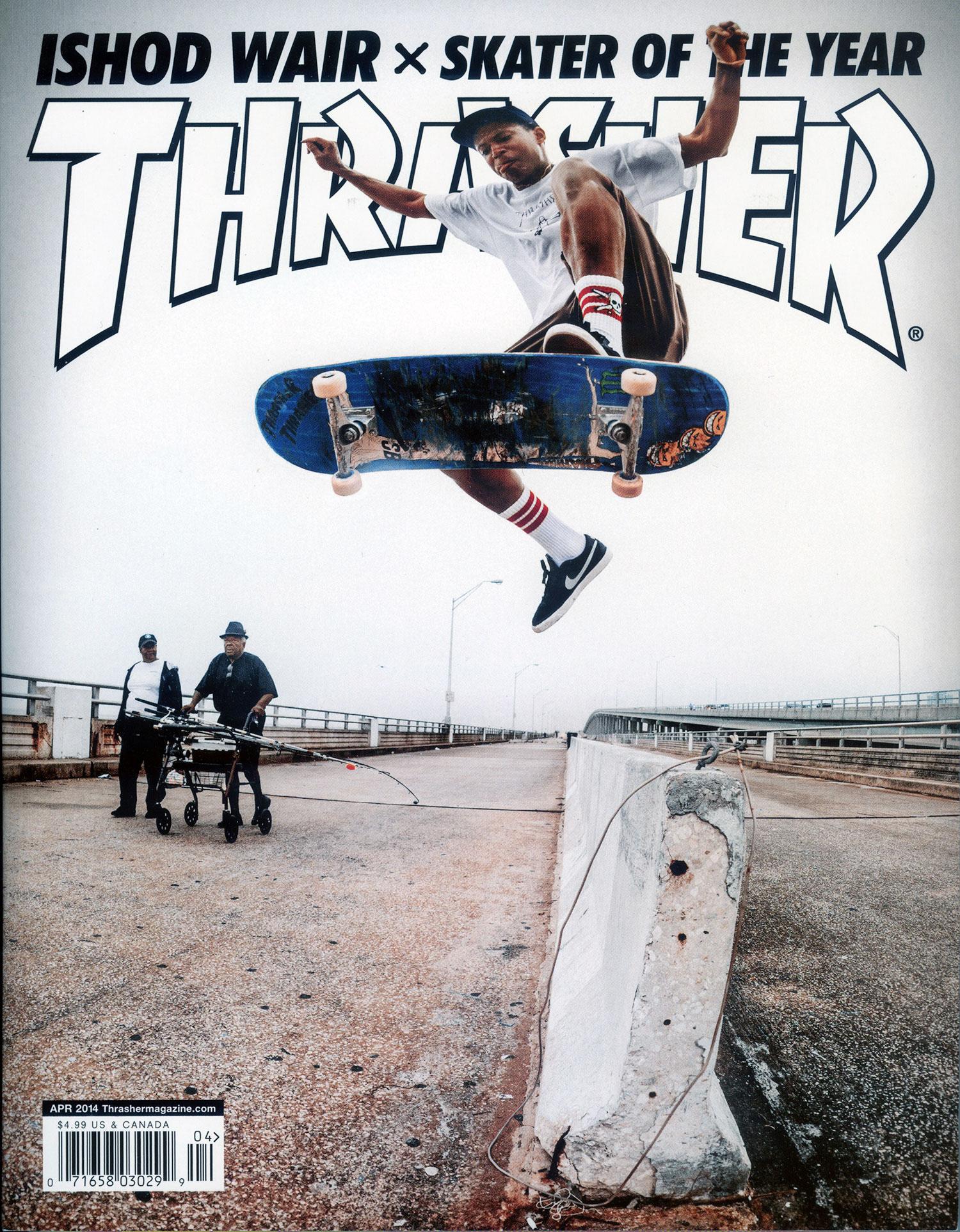 wholesale dealer 7b1c4 df66f Thrasher Magazine - The Good Homies: Ishod Wair Interview
