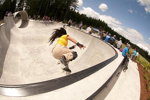 PortOrchardSkatepark RollerSkateAction