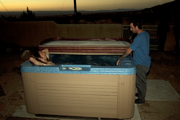 Burnout: Hot Tub Shred Machine