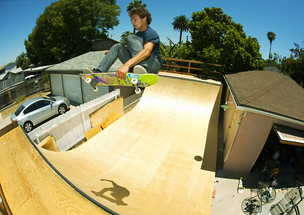 Burnout: Isolated Skateboard Ramp