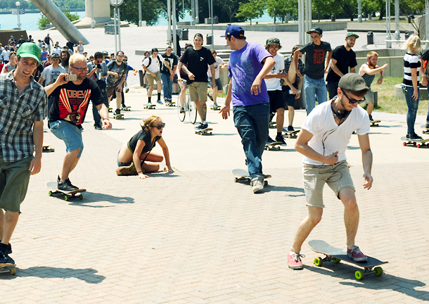Burnout: Skate in Detroit