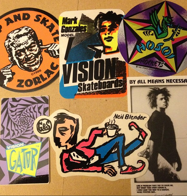 Thrasher magazine sticker wars