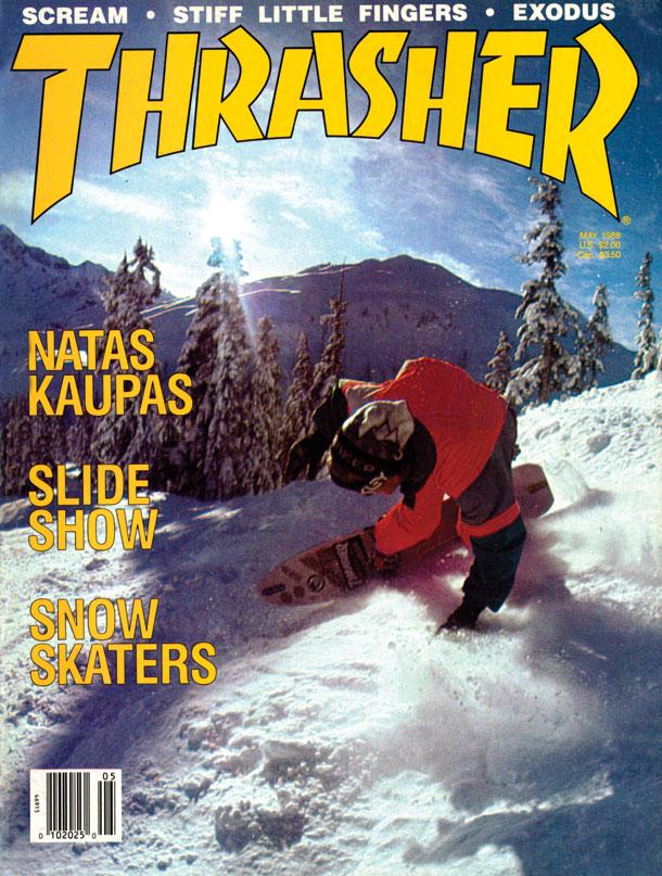 Thrasher Magazine Snowboard Cover Roskopp