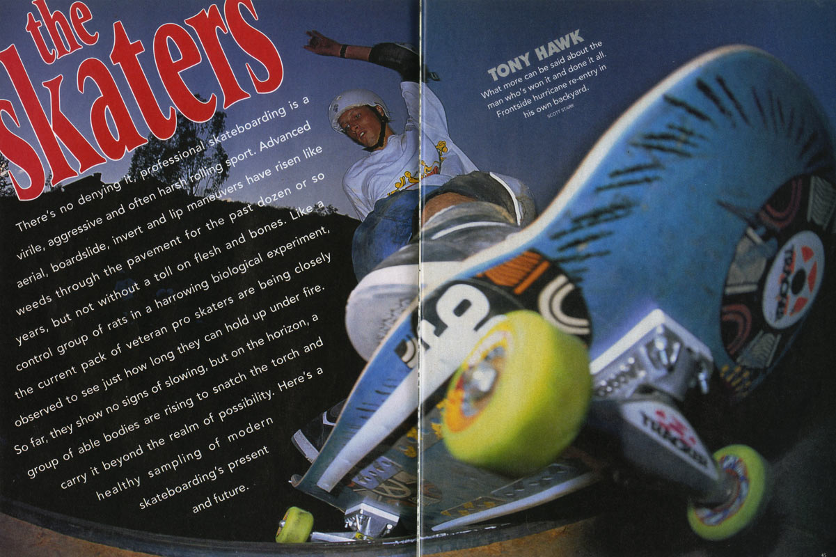 thrasher magazine january 1991