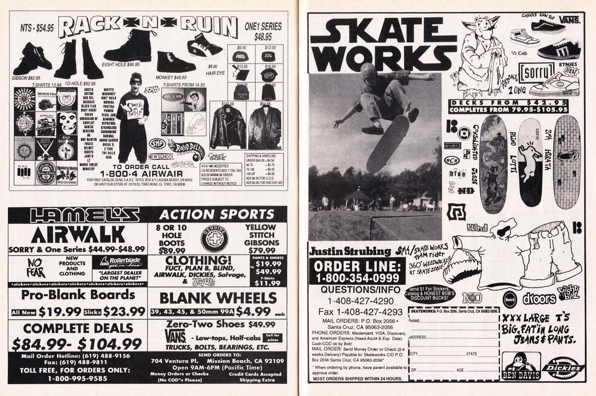 The Gruber Tapes >> Thrasher Skateboard Magazine | April 1993