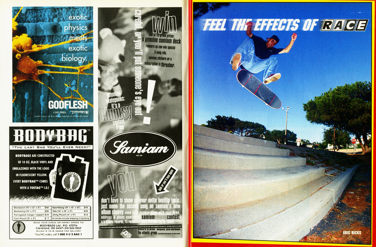 thrasher magazine december 1994