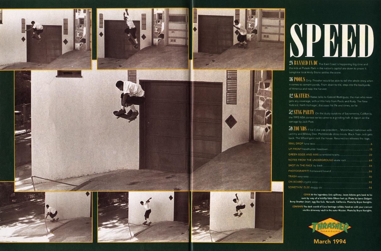 Thrasher Magazine - March 1994 198d097d9b2