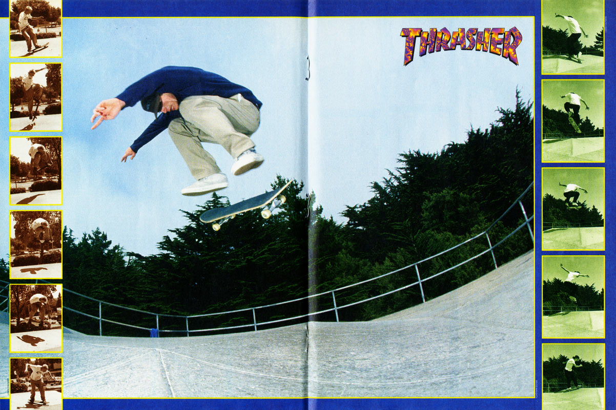 Thrasher magazine november 1994 for Santarossa components