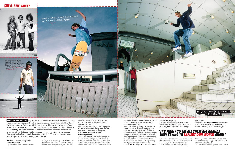 Thrasher Magazine - Cut & Sew What?