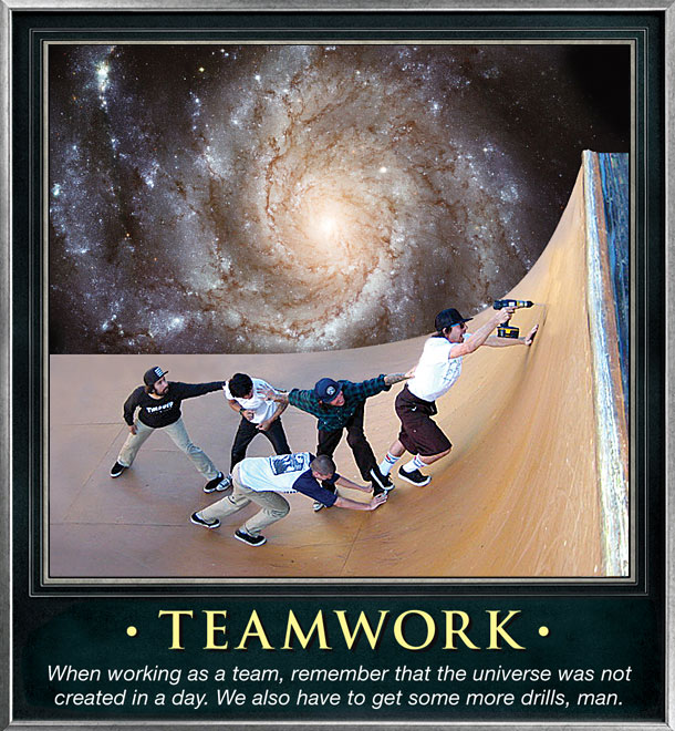 Thrasher Magazine - Frame of Mind: Motivational Skate Posters