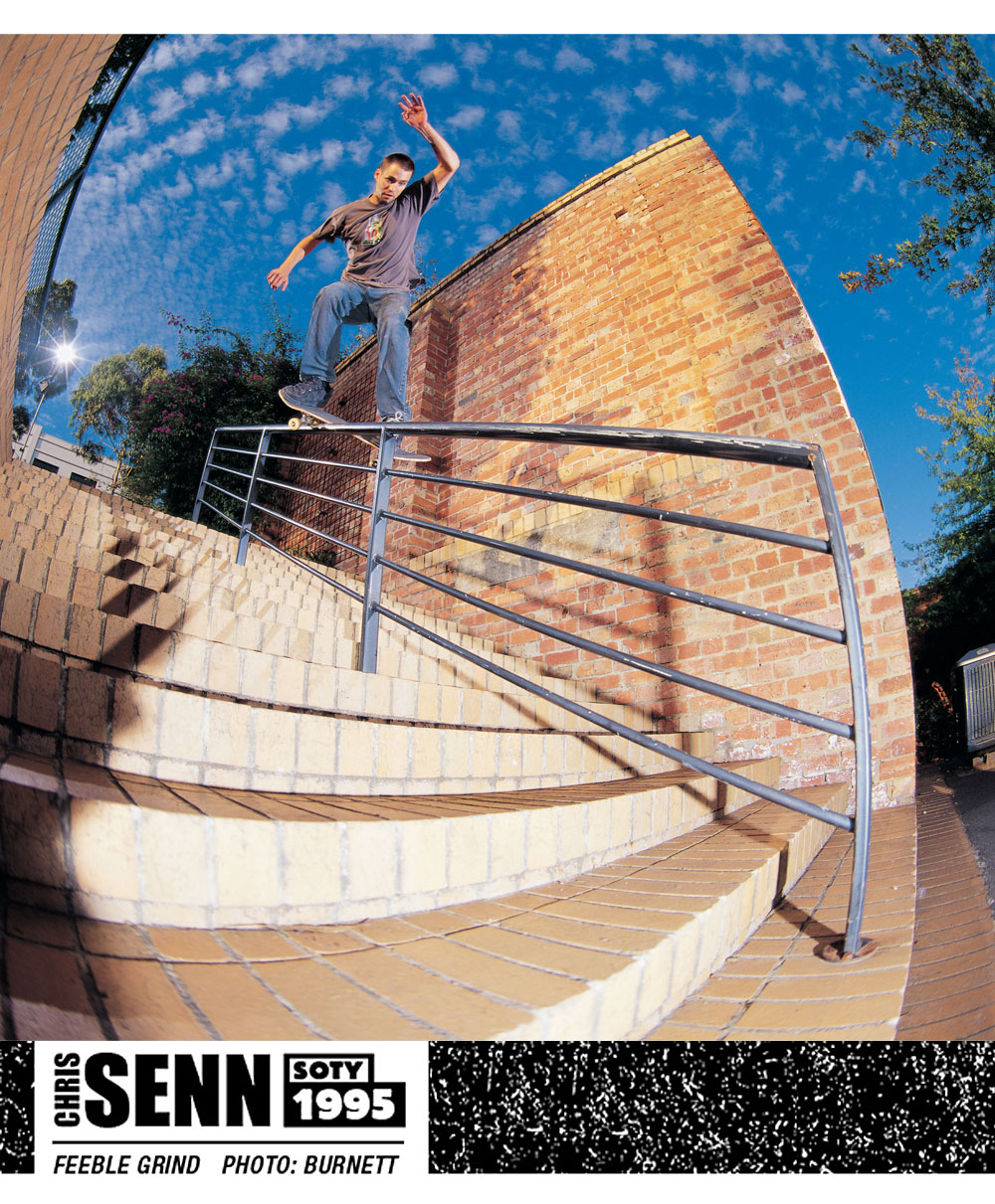 Chris Senn SOTY 1995