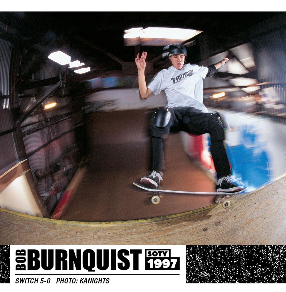Bob Burnquist SOTY 1997