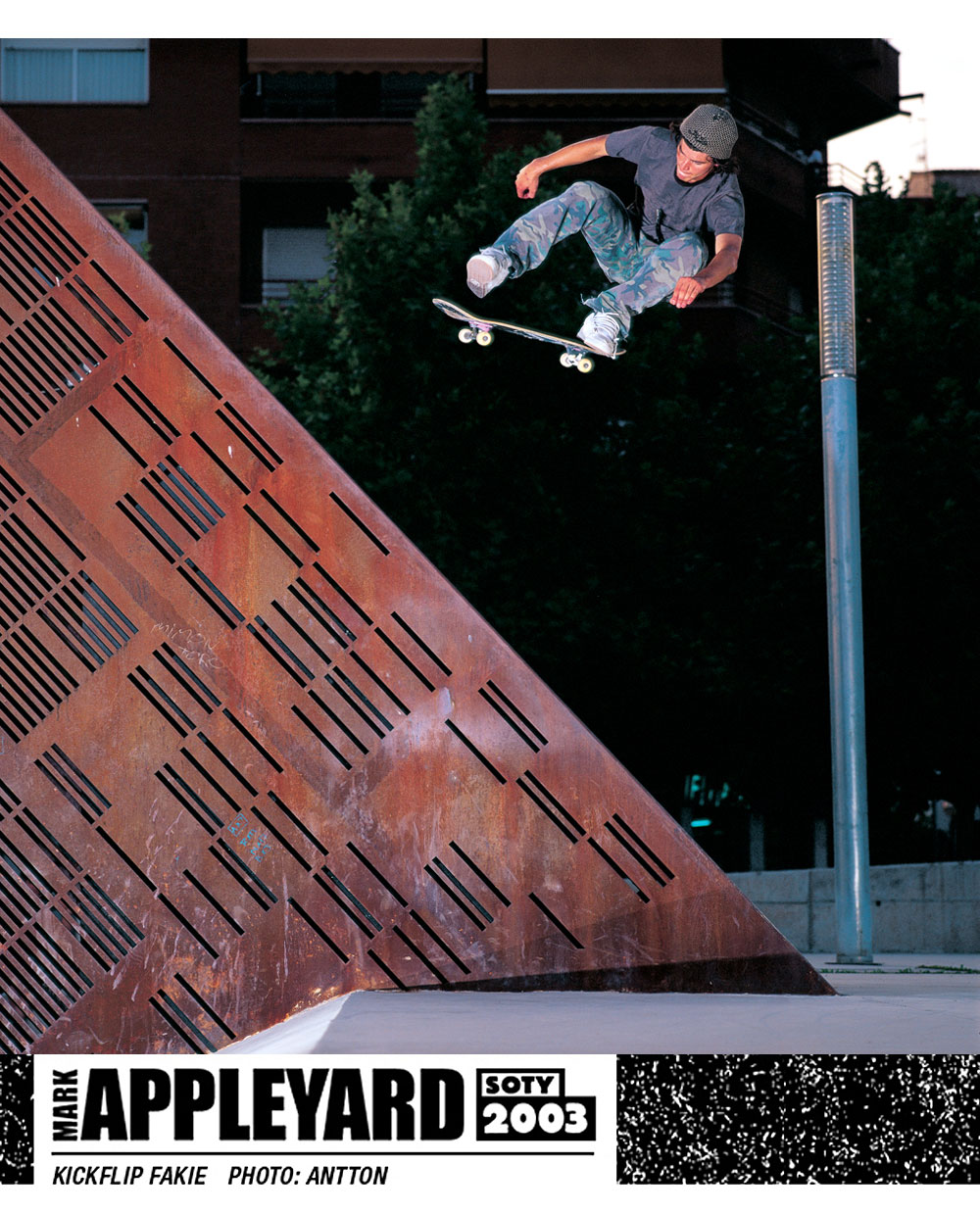 Mark Appleyard SOTY 2003