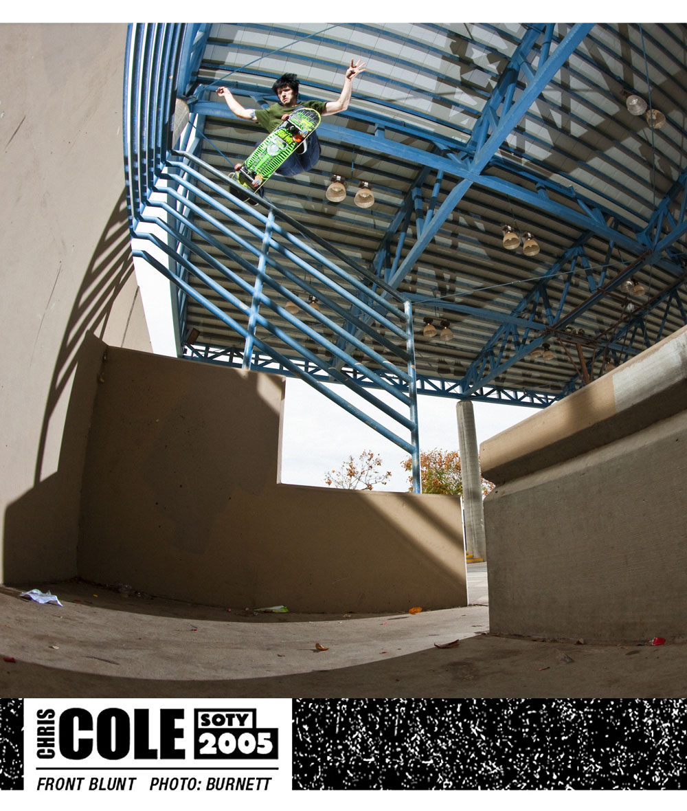Chris Cole SOTY 2005