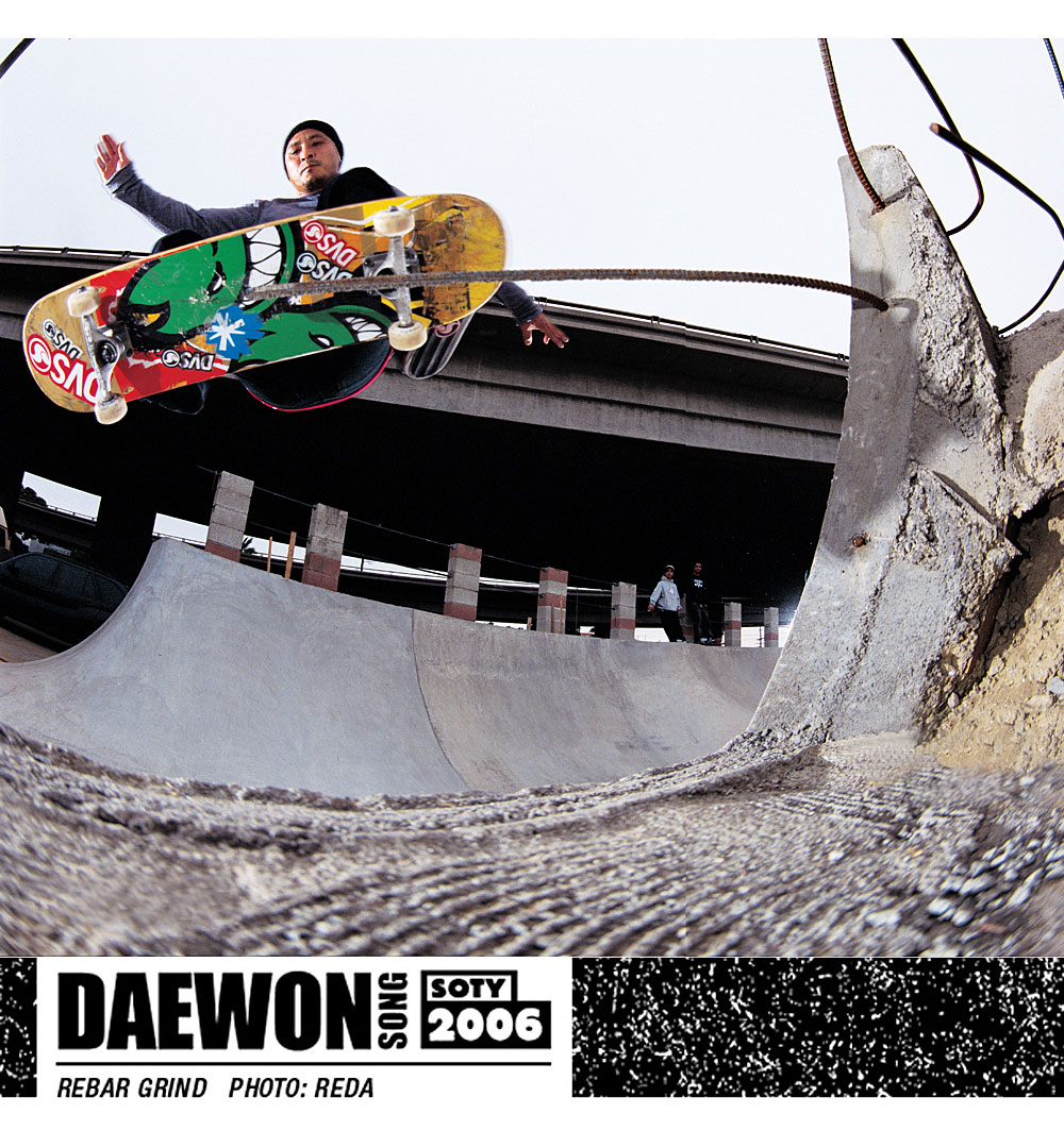 Daewon Song SOTY 2006