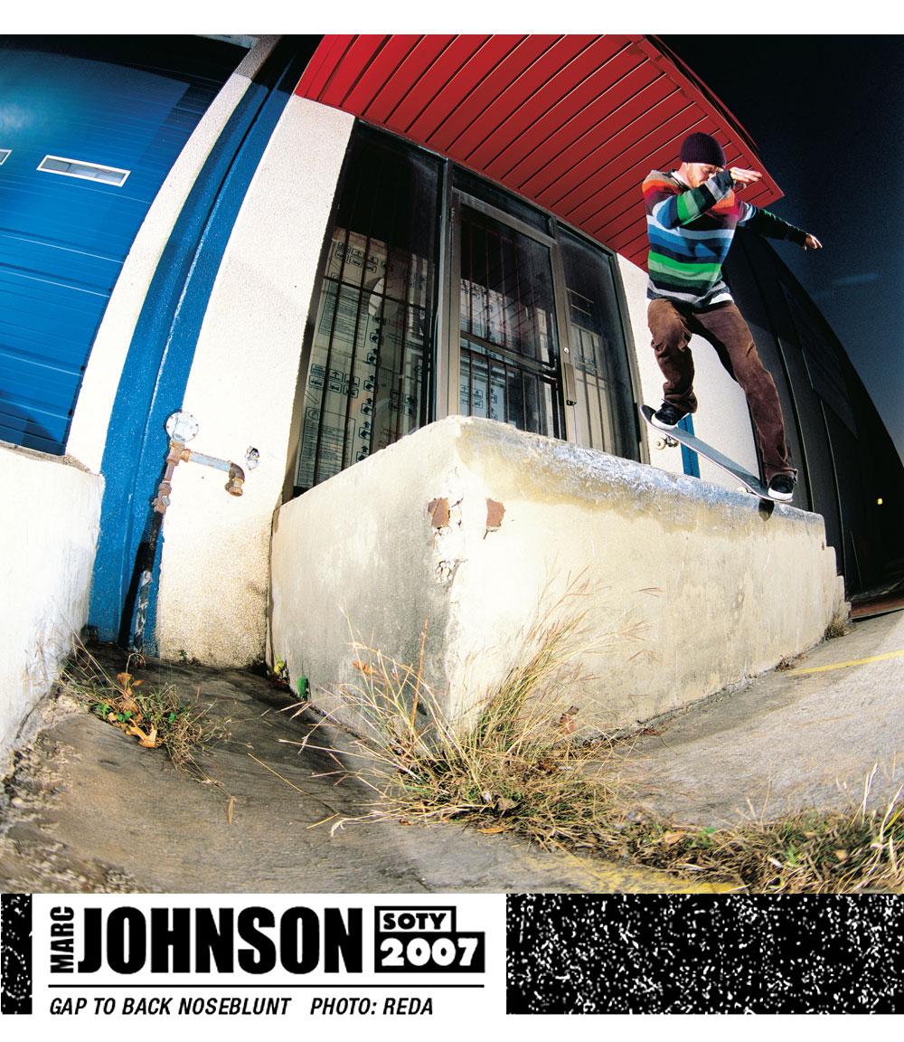 Marc Johnon SOTY 2007