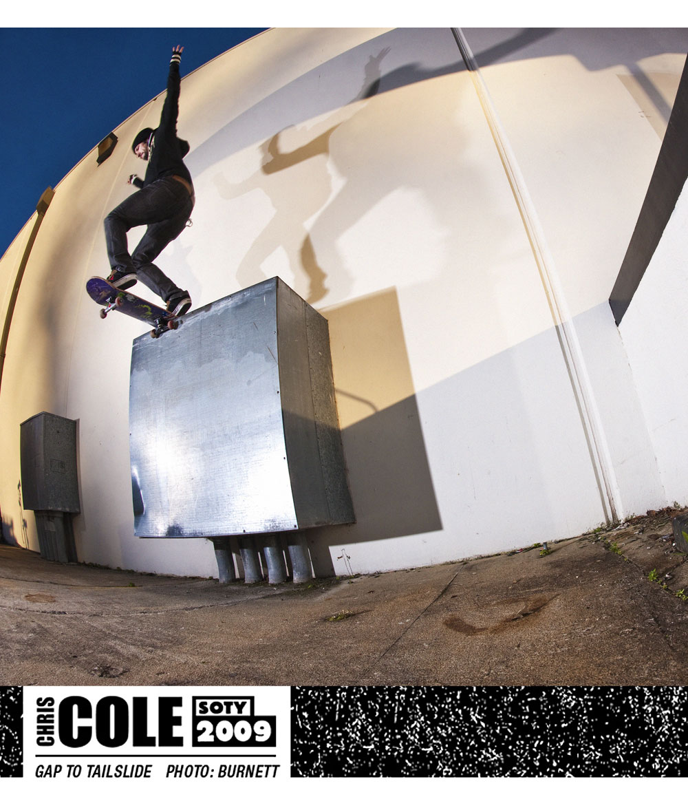 Chris Cole SOTY 2009