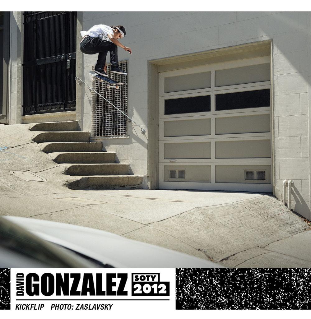 David Gonzales SOTY 2012