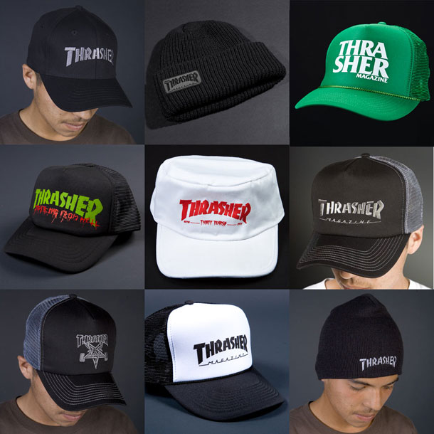Thrasher Magazine - Headwear a04235cce12