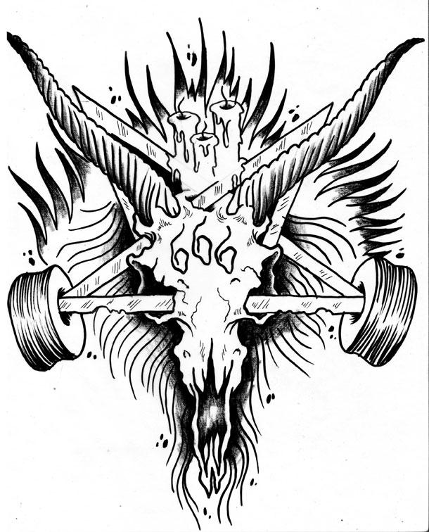 Thrasher Goat Logo