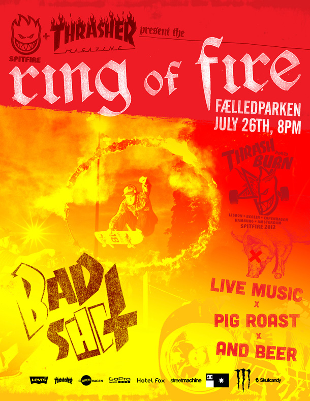 Ring Of Fire Copenhagen 2012