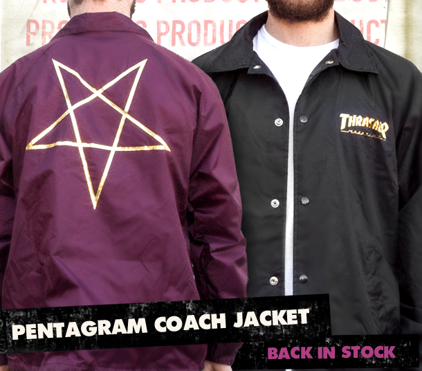 Pentagram Jackets Are Back