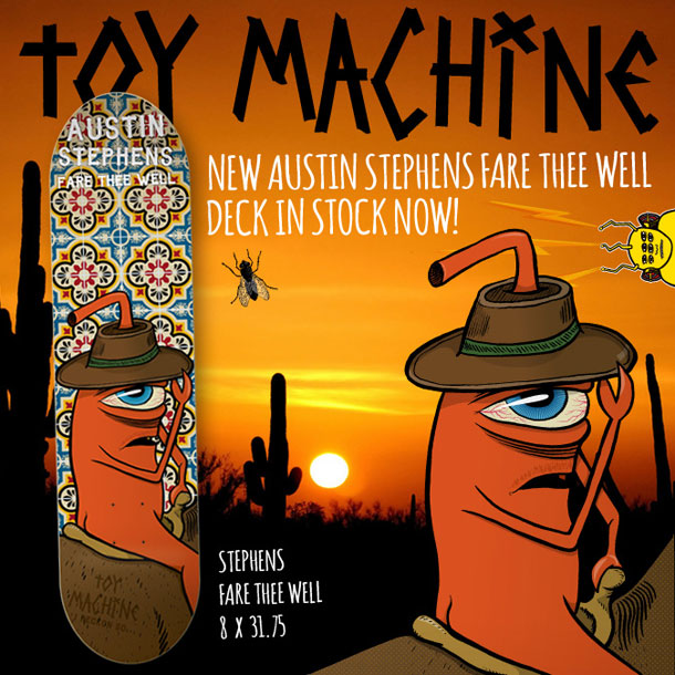 Toy Machine Austin Stephens Farewell Deck