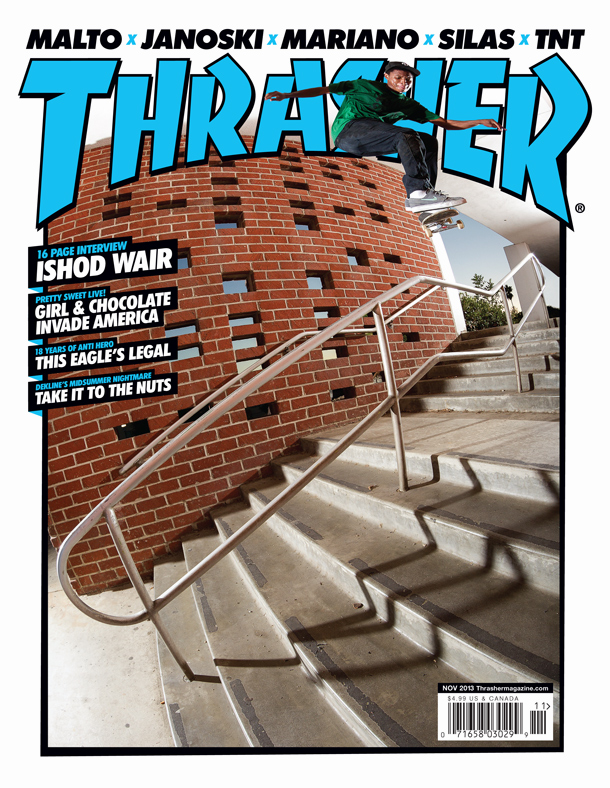 Ishod Wair Interview/Cover