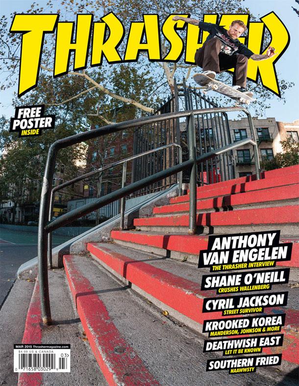 09c330971f Thrasher Magazine - Anthony Van Engelen Interview