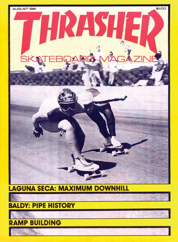Thrasher Magazine - Portada Agosto 1981