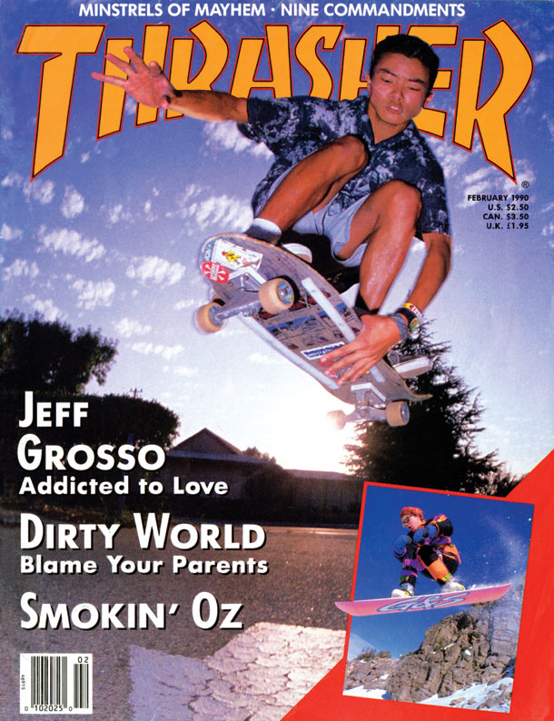 7bb13991f1 Thrasher Magazine - February 1990