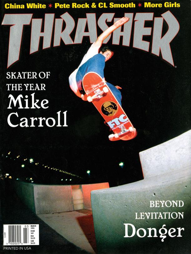 Thrasher Magazine Cover 1995