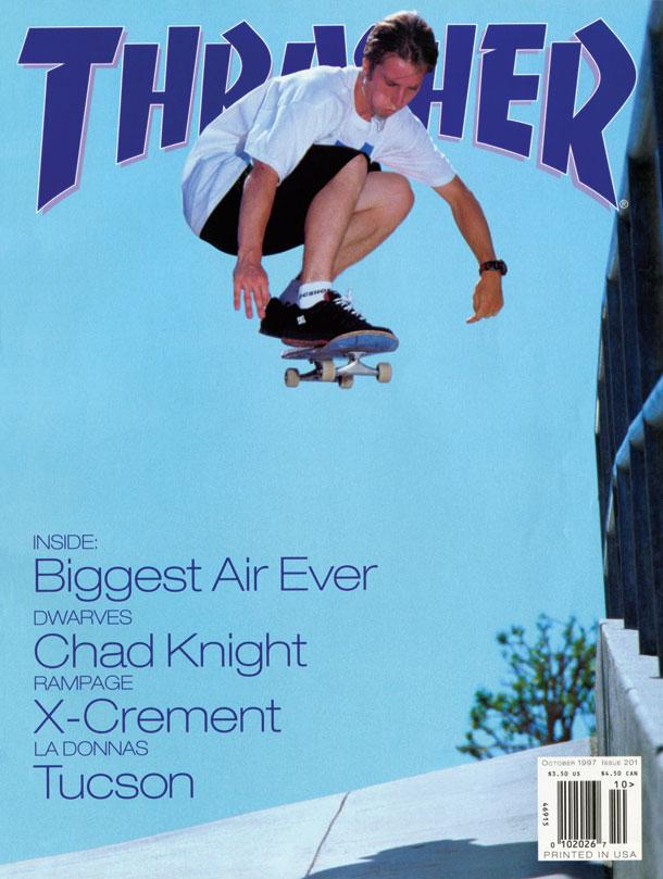 Thrasher Magazine - October 1997