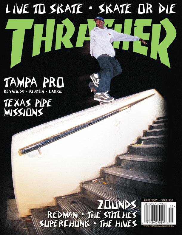 5c5ca063754 Thrasher Magazine - June 2002