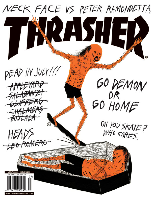 neckface thrasher cover