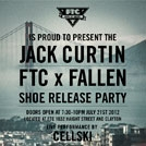 Jack Curtin Shoe Release Party